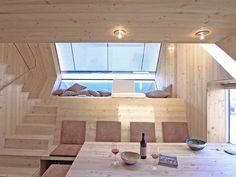 UFOGEL / Peter Jungmann – nowoczesna STODOŁA | wnętrza & DESIGN | projekty DOMÓW | dom STODOŁA