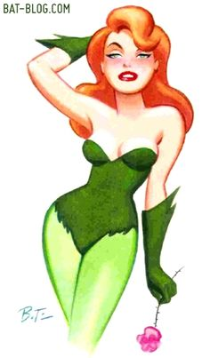 poison ivy cartoon | BRUCE TIMM BATMAN ART - Villains and Animated Series