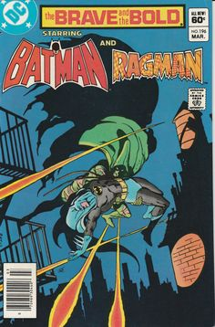 Brave & the Bold Vol. 29 No. 196  1984  Batman and Ragman by TheSamAntics