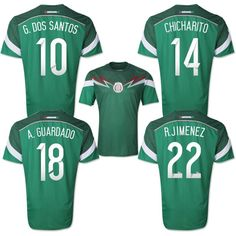 New arrival top Thailand Quality 2014 world cup Mexico Player version soccer jersey Football jersey , Mexico soccer uniform Mexico Team, Mexico Soccer, Mexican Soccer Players, World Cup Jerseys, Football Mexicano, Soccer Uniforms, Football Is Life, Soccer Kits, Fifa World Cup