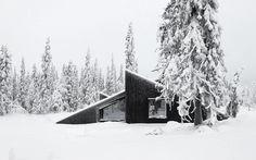 Cabin Vindheim #design #architecture #minimalism  @lucian is that you?  @ellooutside @elloadventure @ellobackcountry @elloarchitecture #cabin