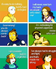 Avatar the last airbender Love how Sokka's the only one not serious