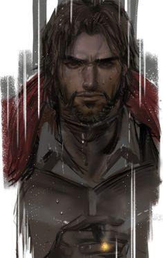 Media preview Character Concept, Character Art, Concept Art, Character Design, Fantasy Art Men, Fantasy Warrior, Fantasy Heroes, Medieval, Overwatch Hanzo