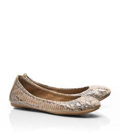 Watersnake Eddie Ballet Flat | Womens Flats | ToryBurch.com