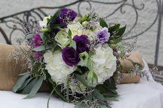 Hydrangeas, lisianthus,dahlia http://wanakaweddingflowers.co.nz/gallery.php