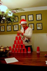 Callie Grace: Minute To Win It Christmas Party - Part 1