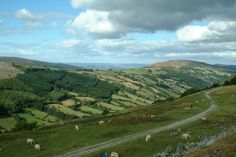Image detail for -Views of Blaenau Gwent, in the area of Nantyglo, Wales.