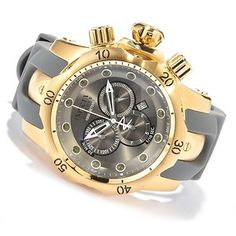 invicta venom watches for men | New Invicta 11956 Venom Reserve Swiss Quartz Gold Tone Men's Watch ...