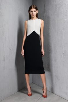Narciso Rodriguez Pre-Fall 2013 Fashion Show - Valery Kaufman