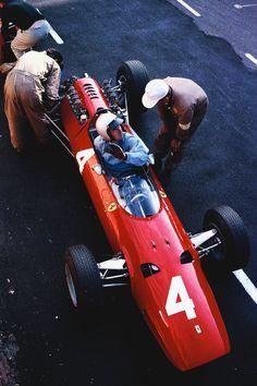 Lorenzo Bandini Ferrari 158 1964