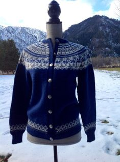 O. Allers AS Bergen Norway, Handknitted