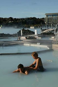 Iceland spa vacation