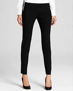 Must have.  Theory Pants Frayne Tailor Stretch Wool Ankle