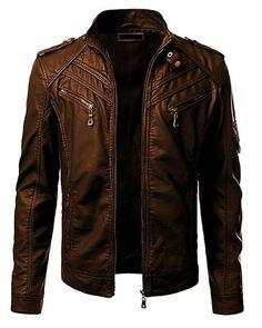 Brown Leather Jacket For Men Rs. Pakistan : Brown Leather Jacket For Men Rs. Mens Leather Coats, Best Leather Jackets, Leather Jacket Outfits, Men's Leather Jacket, Brown Leather, Stylish Men, Vintage Men, Menswear, Mens Fashion