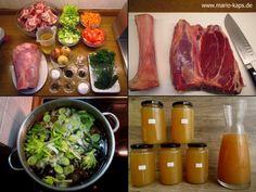 Brauner Kalbsfond - Mario´s Fire Food & Fine Food Impressum: http://www.mario-kaps.de/impressum/