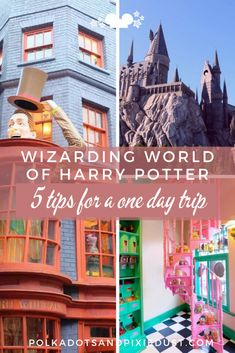 How To Do The Wizarding World of Harry Potter in One Day - Polka Dots and Pixie Dust Disney Vacation Blog