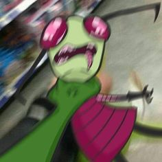 Cartoon Network Fanart, Invader Zim Characters, Rawr Xd, Wholesome Memes, Funny Relatable Memes, Anime Art Girl, Reaction Pictures, Funny Comics, Art Drawings