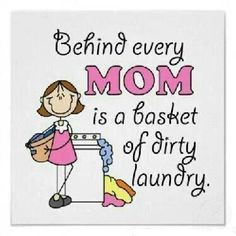 Most often it's a laundry room full of dirty clothes.  ;)
