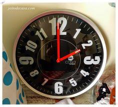 b975acc1b5f Presentes UattCasa. Relógio De ParedeIdeias Para DecorarBlog ...