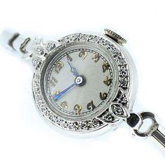 Platinum & Diamond Ladies Watch