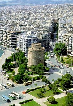 Aerial View Of Thessaloniki, Greece | Flickr - Photo by Loyal Travel