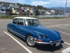 1970 Citroen DS 20 = Fun French Car Auto Blue Rare $37k For Sale