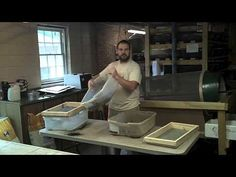 Separating and harvesting worms and worm castings. Separating worm egg cocoons. - YouTube
