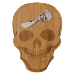 SKULL CHEESE BOARD