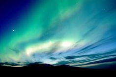 anywhere i can see the northern lights.
