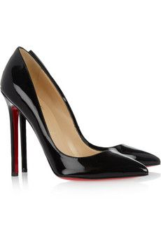 The Pigalle 100 patent-leather pumps by: Christian Louboutin @Net-a-Porter (Global)