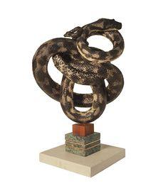 Black rat snake Sold on Success – Polly Morgan
