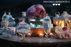 Fantasia Romantica by Francesca Peruzzini for Fernando & Paula ♥ Wedding in Florence, Italy from Brasile - Peony, roses, carnation and blackberry for lovely theme www.fantasiaromantica.com confettata by night confetti tasting candles