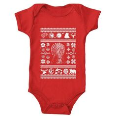 All I Want for Christmas is Westeros - Onesie