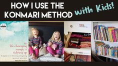 """After reading """"The Life Changing Magic of Tidying Up"""" by Marie Kondo, I felt compelled to tackle my kid's clothes, books, and toys. Here's how I did it and s..."""