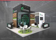 HUVEPHARMA tender 2018 on Behance Exhibition Stall Design, Exhibition Booth, Exhibition Stands, Exhibit Design, Trade Show Booth Design, Stand Design, Jobs Apps, Online Portfolio, Behance