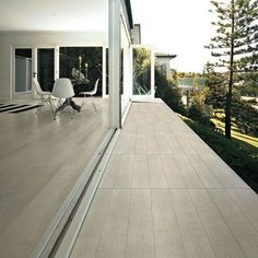 Wooden Tile of Cdc Flooring, Small Backyard, Wooden Tile, Almond Tile, House, Modern Outdoor Spaces, Casa Dolce Casa, Modern, Nordic Design
