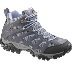 excellent reviews; not too pricey -- Ladies' Hiking Boots – Order the Women's Moab Mid Waterproof Boot from Merrell - J88792