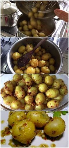Petisco delicioso e prático até para a Copa do Mundo! aprenda a fazer batata calabresa! #petisco #salgado #calabresa #batata #receita #gastronomia #culinaria #comida #delicia #receitafacil #copadomundo #petiscocopa I Love Food, Good Food, Yummy Food, Tasty, Vegetarian Recipes, Healthy Recipes, No Salt Recipes, Portuguese Recipes, I Foods