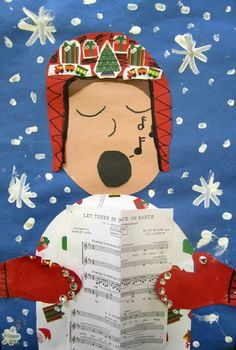 "Grade 3 at Kingsbury Country Day School from school project ""Christmas Carolers"""