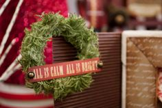 Create mini wreaths with Canvas Corp Cotton Cord and Tattered Angels Mist #paintedholiday #canvascorp #glimmermist