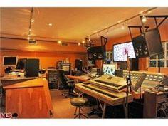 Amazing music studio in this Malibu, California home