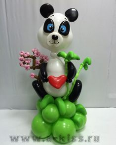 Panda Decorations, Balloon Decorations, Balloon Animals, Animal Balloons, Balloon Modelling, Balloon Delivery, Foil Balloons, Event Decor, Valentines