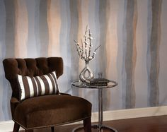 Decorative Painting Technique #2: Shimmery Stripes.
