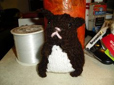 Knitted Hamster