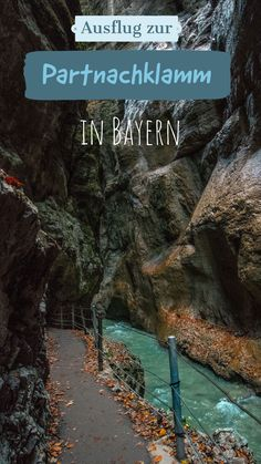 Partnachklamm - one of the most beautiful places in Bavaria - Excursion to the Partnach Gorge in Upper Bavaria. Beautiful Places To Visit, Places To See, Parque Natural, Hawaii Vacation, Romantic Travel, Beautiful Islands, Bavaria, Budget Travel, Travel Hacks