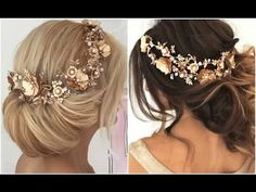 These Golden Headpieces Made Their Hair Look WOW!