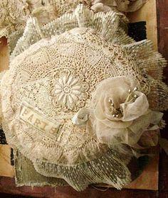 fiber art, vintage textiles,