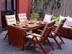 Comedor extensible para exterior, de Ikea