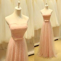 Charming Prom Dress,A Line Evening Dress,Sweetheart Prom Dresses,Bandage Back Long Evening Dress