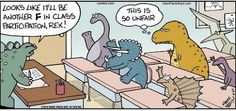 T-Rex little arms jokes... they get old occasionally, but this uses it in a way that makes it interesting again.